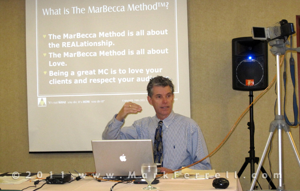 Mark Ferrell Explains The MarBecca Method
