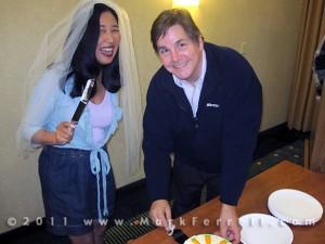Cake Cutting Ceremony - Stacie Tamaki & Alan Chitlik