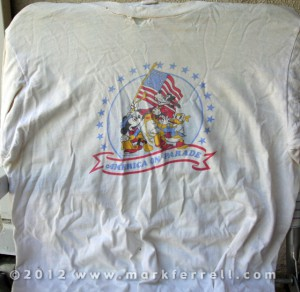 Disneyland's America On Parade T-shirt