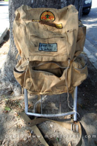 Mark Ferrell's Boy Scout Backpack