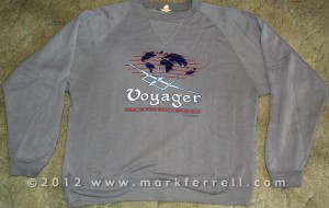 Voyager Flight Commemorative Sweatshirt